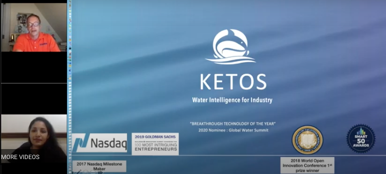 Data as a Service with Intelligent Water Systems (IWS)