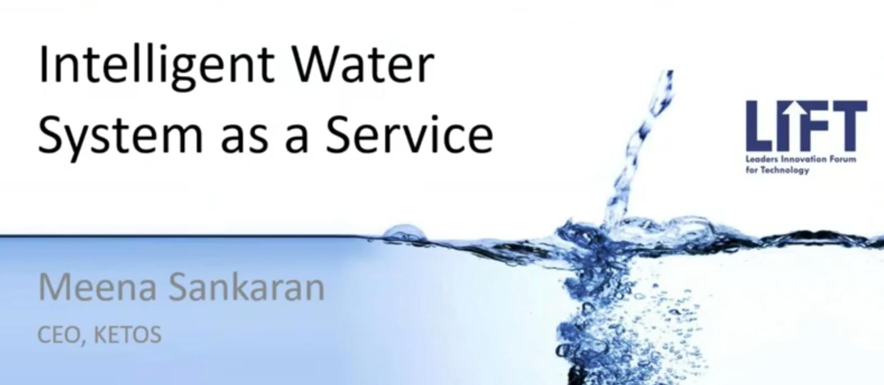 Virtual LIFT:RMWEA Intelligent Water Workshop