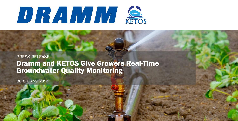 Dramm & KETOS Press Release
