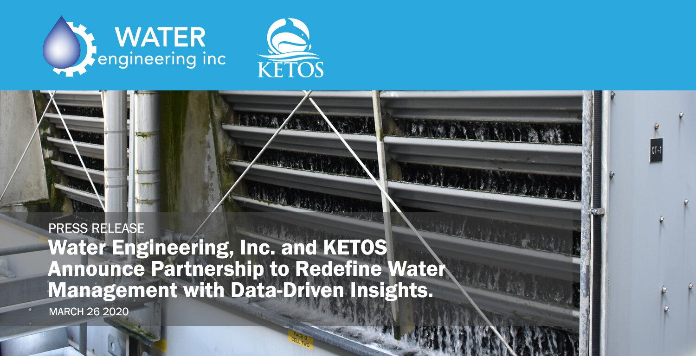 Water Engineering & KETOS Partnership Press Release